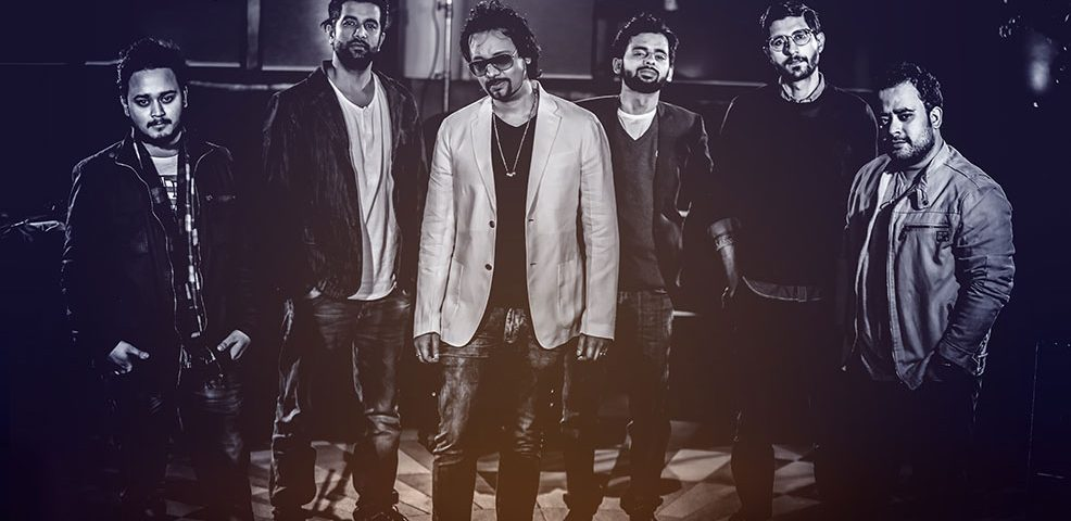 Image Showing Famous Indian Rock Band Members.